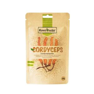 Cordyceps pulver 100 g Rawpowder