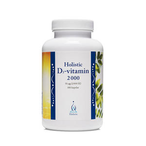 D3 vitamin 2000 IE 180 kap Holistic