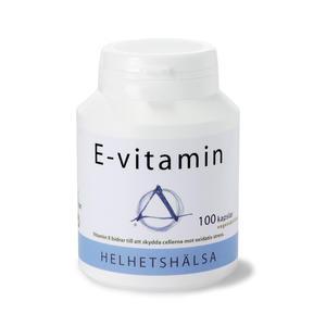E-vitamin 100 kap Helhetshälsa