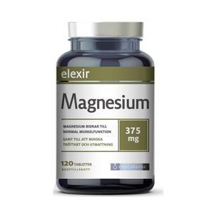 Magnesium 375 mg 120 tab Elexir Pharma