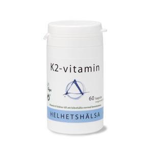 K2 Vitamin 100 mcg 60 kap Helhetshälsa