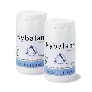 2 x Nybalans 60 kap Helhetshälsa