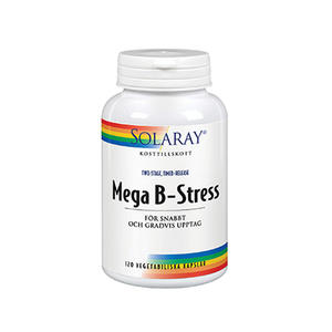 Mega B-Stress 120 kap Solaray