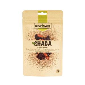Chaga pulver Instant 75 g Rawpowder