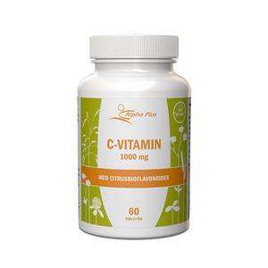 C-vitamin 1000 mg 60 tab Alpha Plus