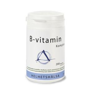 B-vitamin Komplex 200 kap Helhetshälsa