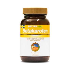 Betakaroten 50 mg 50 kap Better You