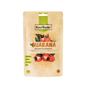 Guarana pulver 90 g EKO Rawpowder