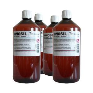 4 x Ionosil kolloidalt silver 1 liter ION SILVER