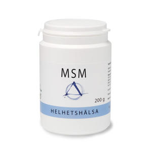 MSM pulver 200 g Helhetshälsa