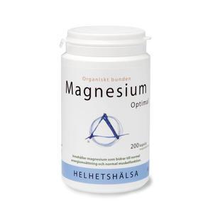 Magnesium Optimal 200 kap Helhetshälsa