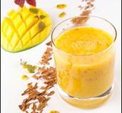 Mango- och kaneldrömssmoothie