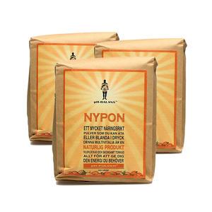 3 x Nyponpulver 1 kg PH Balans