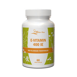 E-vitamin MerVital 60 kap Alpha Plus