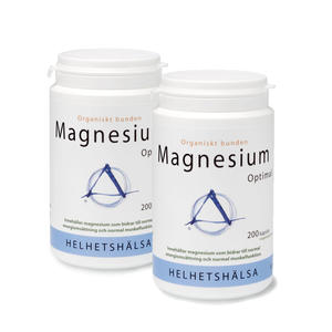 2 x Magnesium Optimal 200 kap Helhetshälsa
