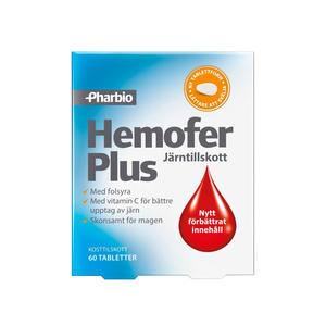 Hemofer Plus 60 tab Pharbio