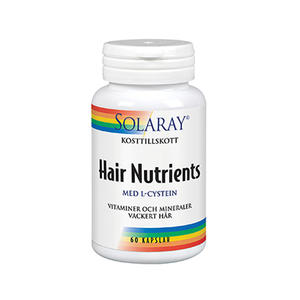 Hair Nutrients 60 kap Solaray